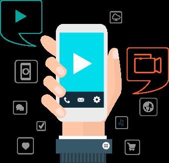 Mobile App Demo Videos